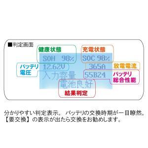 バッテリーチェッカー MICRO-100 (バッテリーテスターSAE・DIN・IEC・EN・CA(MCA)規格対応型)|f-depot|05