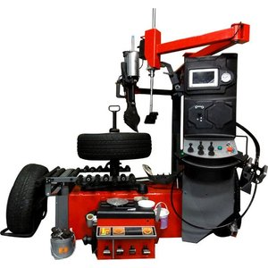 特許公開中/ランフラット対応レバーレスタイヤチェンジャー ODAIKAN-01(3相/200V/足回り/タイヤ交換/サポートアーム/サポートヘルパー)|f-depot