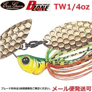 エバーグリーン Dゾーン フライ 1/4oz TW 06 ホットタイガー(ゴールド) 036704