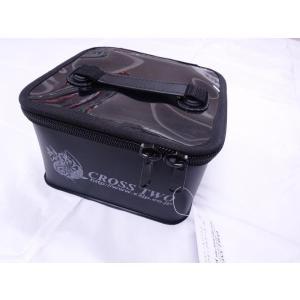 ※ クロスツー X2 XII オリジナル クリアタックルケース S ブラック 200037|f-eldo