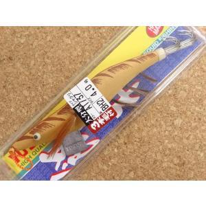 ヨーヅリ 餌木大分型U布巻3本毛 半傘 4.0号 AT-37キチャ 128854 メール便可|f-eldo