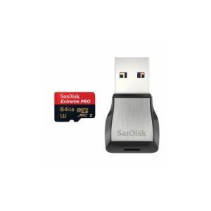 サンディスク エクストリームプロ UHS-II microSD 64GB SDSQXPJ-064G-...