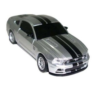 【SB】 LANDMICE Ford Mustang GT (シルバー)USBメモリー8GB FD-GT8G-SL f-fact