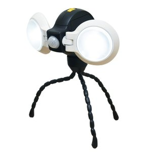 ライテックス(RITEX) LEDセンサーライト 自由に曲がる三脚でどこでもセンサーライトダブルASL092|f-fact