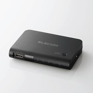 エレコム(ELECOM) 3入力1出力 HDMI 切替器(リモコン付) DH-SWP31BK|f-fact