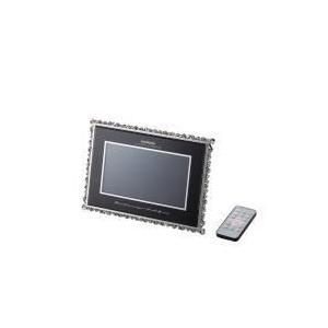 エレコム(ELECOM) ウェディングギフトに最適なデジタルフォトフレーム エタニティラブ DPF-D7WW10BK|f-fact