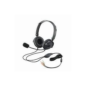 エレコム(ELECOM) ヘッドセット(両耳オーバーヘッド) HS-HP20BK|f-fact