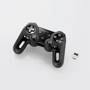 エレコム(ELECOM) 無線13ボタンXinput対応ゲームパッド(ホワイト) JC-U4113SBK f-fact