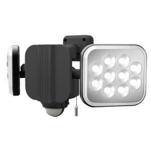[RITEX]灯光器にもなる!12W×2灯 フリーアーム式LEDセンサーライトLEDAC2024|f-fact