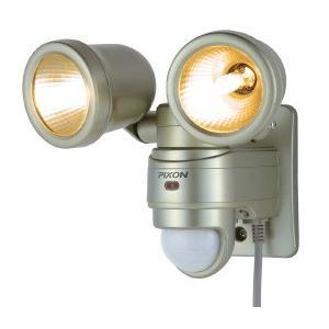 ライテックス 外玄関 ハロゲンセンサーライト/屋内・屋外用/防雨型/ピクソン防雨型チャイム&アラーム接続対応 PZ820|f-fact