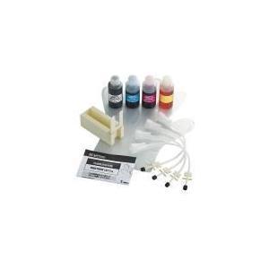 エレコム(ELECOM) ブラザー用「LC11」カートリッジに対応詰め替えインク4色と専用工具セット THB-11BCSET f-fact