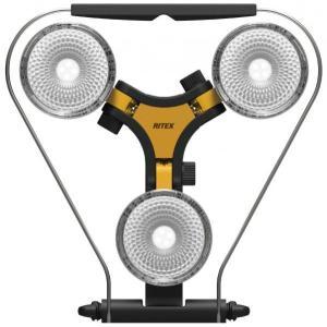 RITEX ハロゲン投光器 300W 相当LED×3灯 スーパーワークライト WT-1000|f-fact