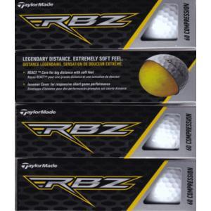 送料無料レターパック発送 ゴルフボール  (3個×4)テーラーメイド  RBZ ゴルフボール 1ダース   US仕様|f-fieldstore