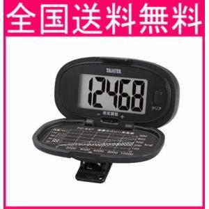 タニタ 歩数計 大型表示  PD647   ブラック  |f-fieldstore