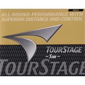 送料無料レターパック発送 Bridgestone ブリヂストン  ツアーステージ S100    TOURSTAGE ゴルフボール 1ダース (12個)|f-fieldstore