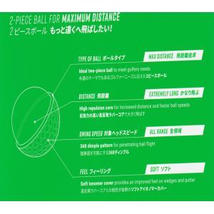 送料無料レターパック発送   本間ゴルフ HONMA GOLF   マルチカラー   12球(1ダース)ゴルフボール D1  BBT1801|f-fieldstore