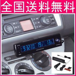 セイワ W852  電圧サーモ電波クロック+USB USB出力/電圧/外・内温度計|f-fieldstore