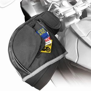 防水 防寒ハンドルカバー サーモウォーマー 黒 大阪繊維 f-fieldstore