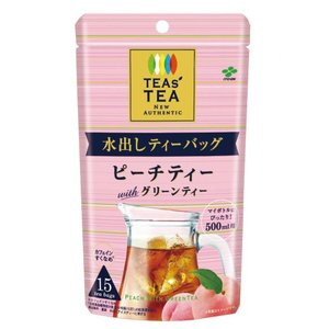TEAs' TEA NEW AUTHENTIC 水出しティーバッグ ピーチティーwithグリーンティ...