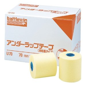アンダーラップテープ(非粘着)【U70】 サイズ(幅×長さ):70mm×25m入数:12巻|f-folio