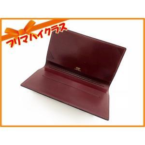 【HERMES】 エルメス 小切手カバー 2つ折り 財布 札入れ レザー|f-high-c