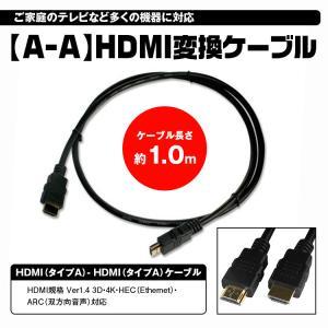 メール便送料無料 ハイスピード HDMIケーブル 1m 3D/イーサネット対応 HDMI Ver1.4 1m 4層シールド PS3/Xbox360対応|f-innovation