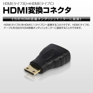 メール便送料無料 HDMI変換コネクタ  アダプター タイプA⇒タイプC mini変換|f-innovation