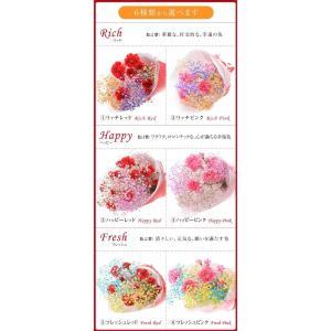 誕生日 カーネーション 6種類から選べるスマイルブーケ|f-iwai
