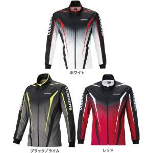 シマノ フルジッププリントシャツ(長袖) SH-051S  M〜XL|f-kanpai