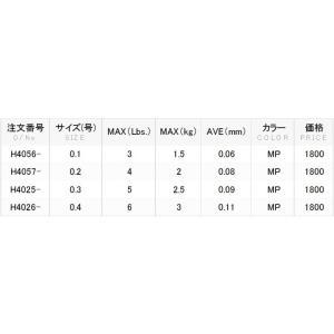 DUEL アーマードS アジ・メバル 100m 0.2,0.3,0.4号 アーマーPEライン(メール便対応)|f-marin|05