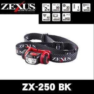 冨士灯器 ゼクサス LEDヘッドライト ZX-250 BK(ブラック)|f-marunishi
