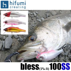 ヒフミクリエイティング ブレス 100SS タイプ:SS (スローシンキング) /シーバスルアー【メール便配送可】/(5)|f-marunishiweb2nd