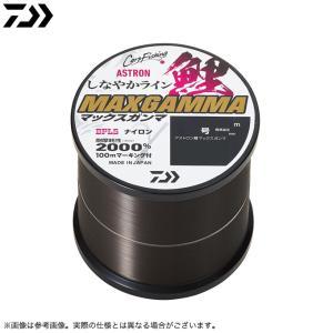【取り寄せ商品】 ダイワ アストロン鯉 マックスガンマ 4号 600m タニシブラック (ナイロンライン・道糸/2020年モデル) /(c)|f-marunishiweb2nd