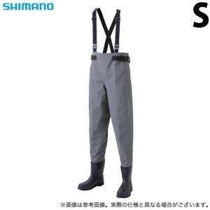 【取り寄せ商品】 シマノ FF-021U (サイズ:S) DS3ウェーダー (ウエストハイ・カットフェルトソール) (グレー) /(c)|f-marunishiweb2nd