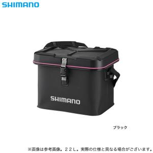 【取り寄せ商品】 シマノ BK-063R (22L) (ブラック) ライトタックルバック (鞄/バッグ) /(c) f-marunishiweb2nd