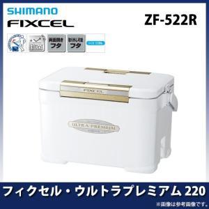 【数量限定】 シマノ フィクセル・ウルトラプレミアム 220(ZF-522R) (カラー:アイスホワイト) (クーラーボックス)(7) f-marunishiweb2nd