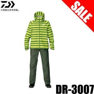 【目玉商品】 ダイワ DR-3007 デタッチャブルレインスーツ (カラー:グリーンボーダー) (5) f-marunishiweb2nd