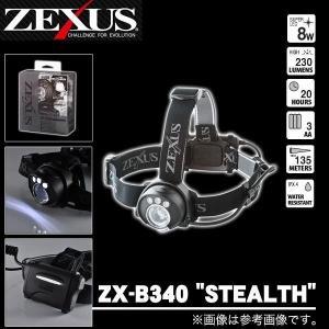 冨士灯器 ゼクサス LEDヘッドライト ZX-B340  ''STEALTH'' (5) f-marunishiweb2nd