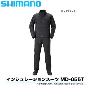 シマノ インシュレーションスーツ  MD-055T カラー:ロックブラック (ウェアー/ミドラー) 2020年秋冬モデル/(5)|f-marunishiweb2nd