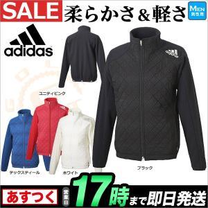 adidas アディダス ゴルフ CCI27 JP CP キルティングフリースジャケット(メンズ)|f-netgolf