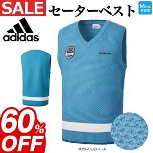 adidas ゴルフ 立体的な編み組織のセーターベスト