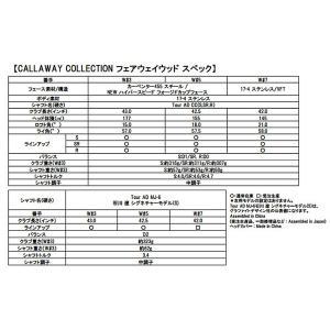 CALLAWAY COLLECTION キャロウェイコレクション フェアウェイウッド Tour AD CC|f-netgolf|04