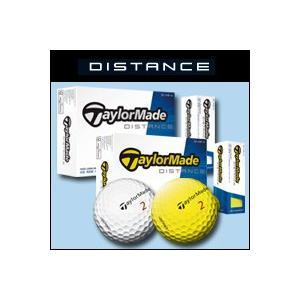 テーラーメイド DISTANCE ディスタンス ゴルフボール 1ダース|f-netgolf
