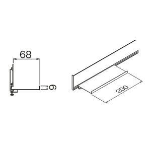 壁掛けハンガー ハンギングレール用オプション ...の詳細画像2