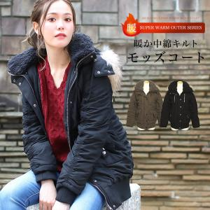 コート レディース モッズコート 冬 アウター ミリタリージャケット ブルゾン 大きいサイズ|f-odekake