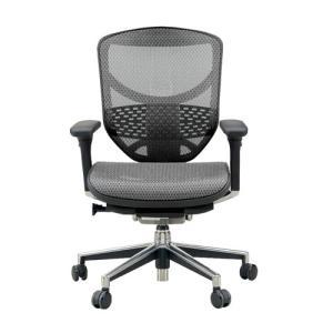 オフィスチェアー エルゴヒューマンエンジョイL  3dファブリック、エラストメリックメッシュ全12色対応 f-room