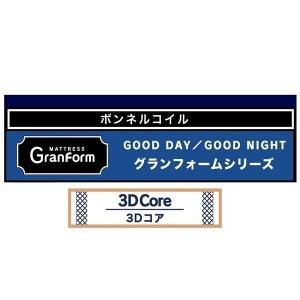 Granz(グランツ) 国産ワイドダブルマット グランフォーム 3Dファイバーフォール 送料無料(玄関前まで)北海道・沖縄・離島はお見積り f-room