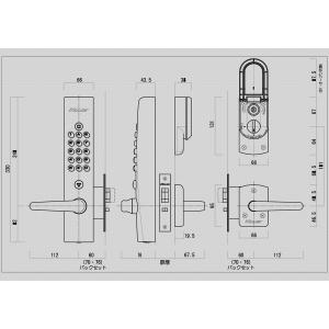 キーレックス 500 22291 シブタニ SL10取替用|f-secure|02