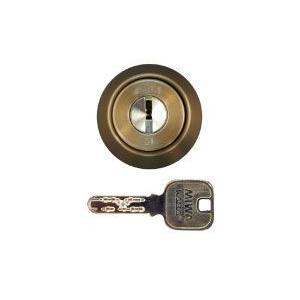MIWA(美和ロック) JN DZ(BH)シリンダー (扉厚33〜42mm対応 CB色)|f-secure