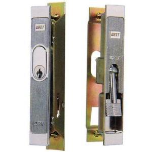 WEST(ウエスト) KH-4 アルミサッシ用引違錠 ネジ式 Y.K.K. 神鋼他 f-secure
